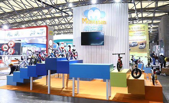 The first appearance of small Aurora sports at Shanghai International Baby Products Exhibition
